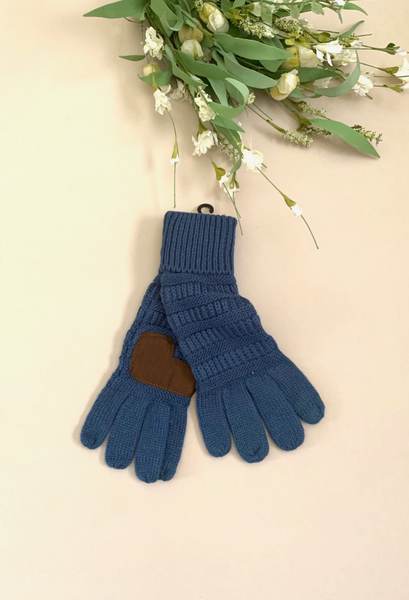 C.C. Knitted Touch Screen Gloves-more colors