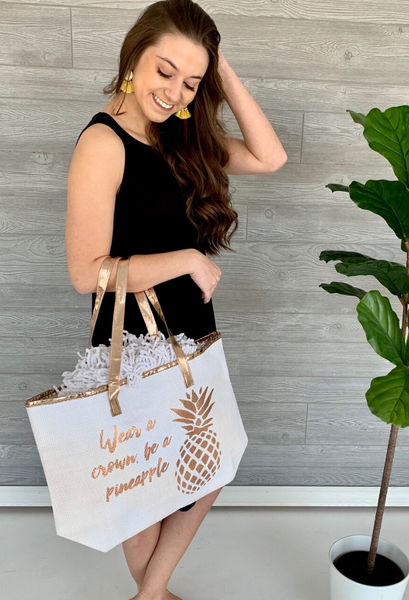 Be a pineapple bag