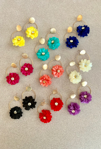 Maya Flower Earrings