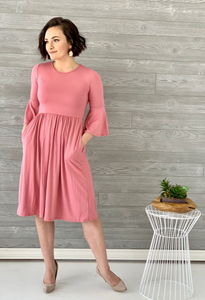 Everly Ruffle Dress