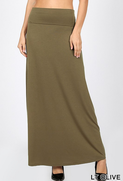 Maxi Skirt-8 Colors