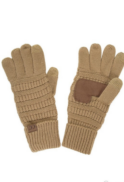 C.C Touch screen gloves