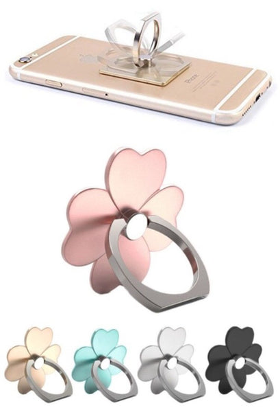 Smart phone ring grip