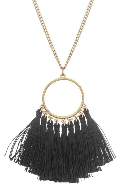 Tassel drop Necklace