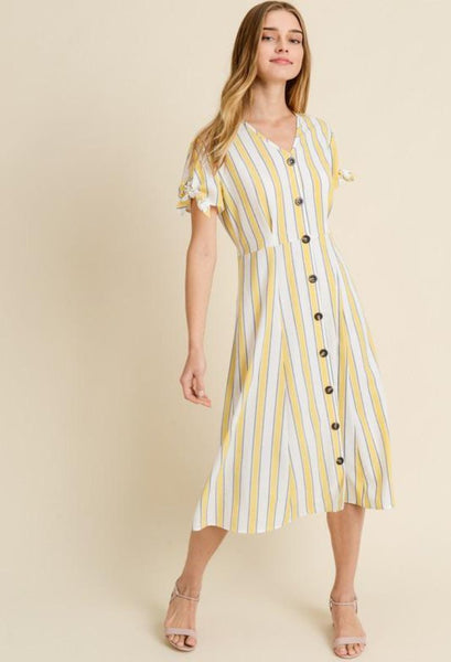Danielle Stripe Dress