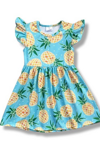Posh Pineapple Dress