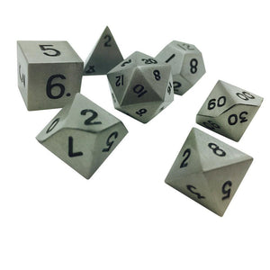 Norse Foundry Aged Mythral Metal Dice