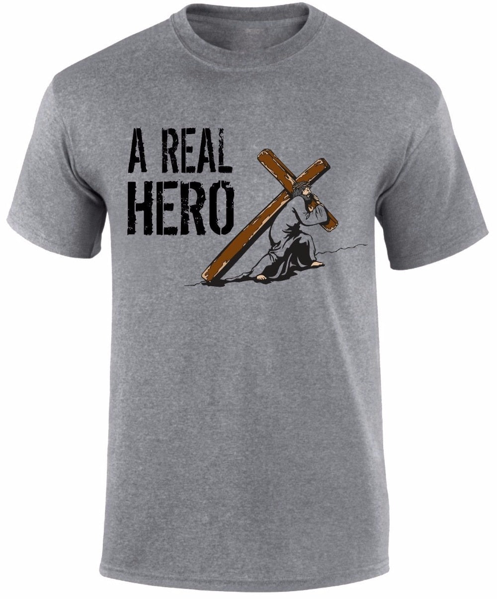 Real Hero Jesus T Shirt