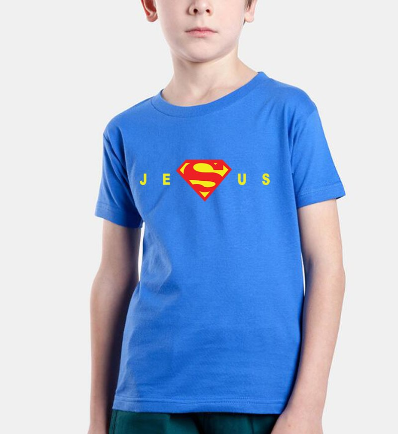Kids Super Jesus T Shirt