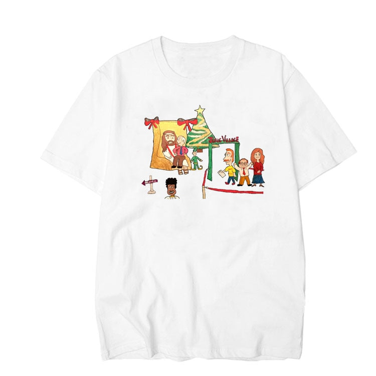 Cartoon Jesus T Shirt