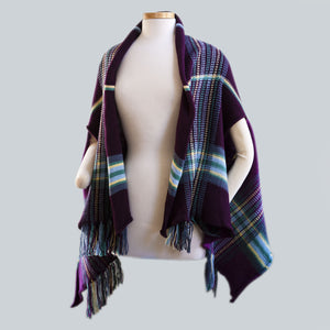 Wilpena - 100% Wool Shawl Cardigan