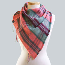 Load image into Gallery viewer, Flemington - 80% Alpaca 20% Silk Bandana Scarf