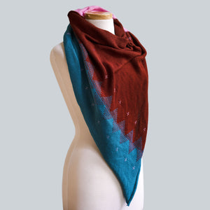 WHOLESALE Halls Gap - 100% Cotton Triangle Scarf