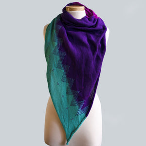 Leura - 100% Cotton Triangle Scarf