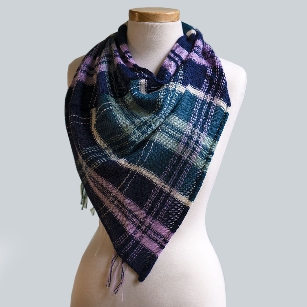 WHOLESALE Macedon - 80% Alpaca 20% Silk Bandana Scarf