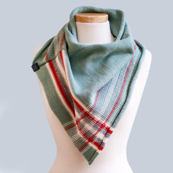 Mt Wellington - 100% Wool Bandana Scarf