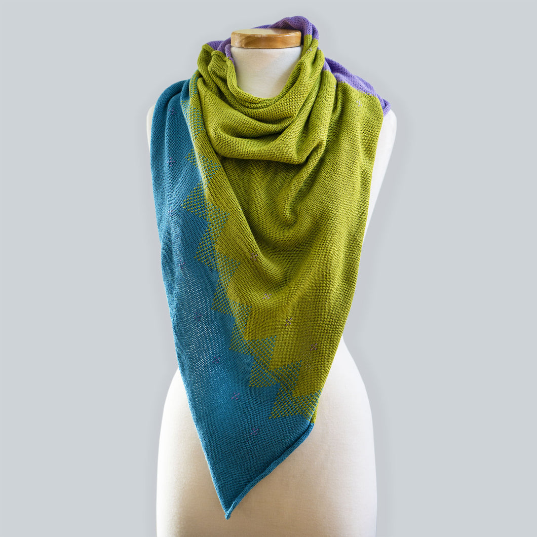 Narooma - 100% Cotton Triangle Scarf