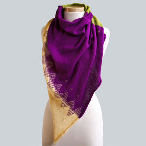 Port Douglas - 100% Cotton Triangle Scarf