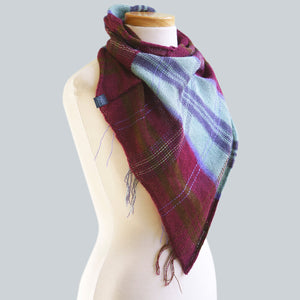 Red Hill - 80% Alpaca 20% Silk Bandana Scarf