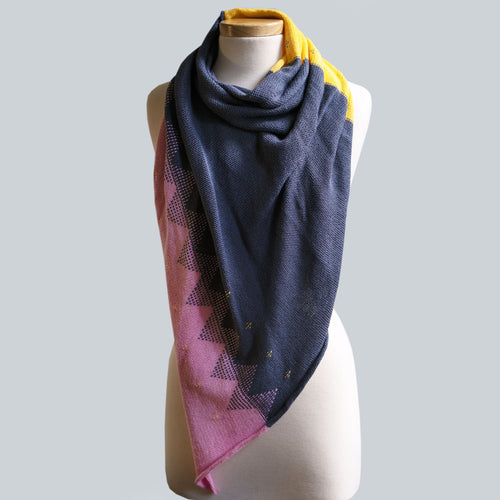 WHOLESALE Richmond - 100% Cotton Triangle Scarf
