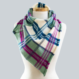Whitsunday - 100% Wool Bandana Scarf