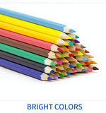 High Quality Water Colored Pencils 36/48 Unique colors with FREE watercolor brush by Maries
