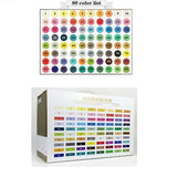Watercolor liquid Dual Head Brush marker pen set 12/24/36/48/80 color sets sketch drawing manga