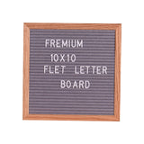 Letter Board Letter Board with Letters Sign Message Home Office Decor Board Oak Frame bulletin board