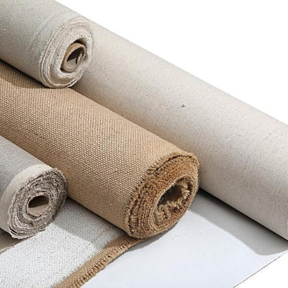 16.5 feet/5m long Linen Blend Primed Blank Canvas For Painting High Quality Layer Oil Painting Canvas One Roll By BGLN