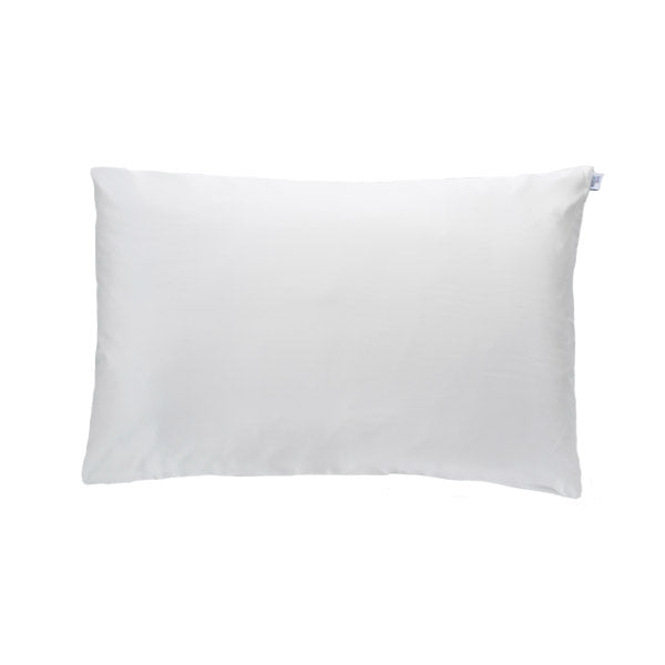 Ivory White Silk Pillowcase - Std