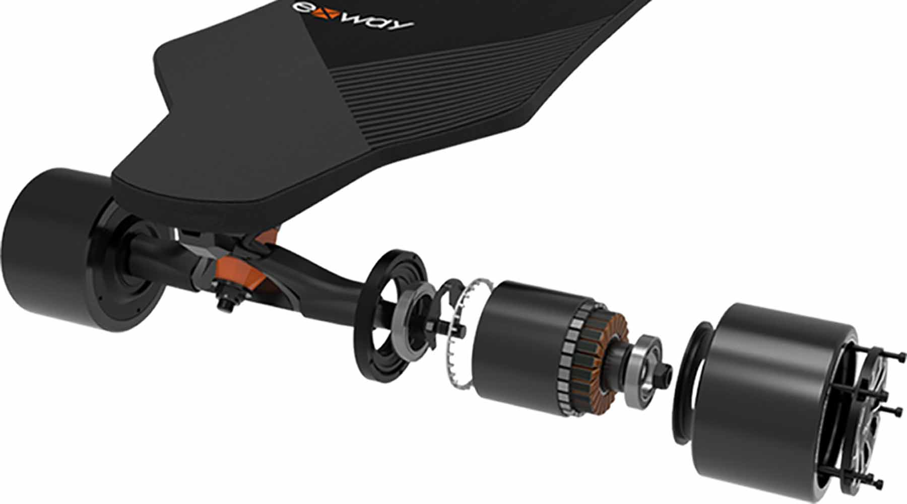 Exway Most Powerful Electric Skateboard
