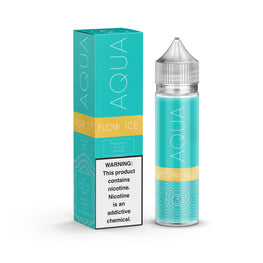 Aqua - Flow ICE - 60ML E-Liquid - Vapor Living