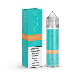 Aqua - Oasis ICE - 60ML E-Liquid - Vapor Living