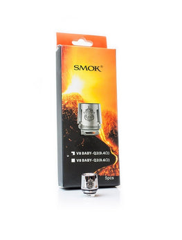 SMOK - (5x) TFV8 Baby Beast Replacement Coils - Vapor Living