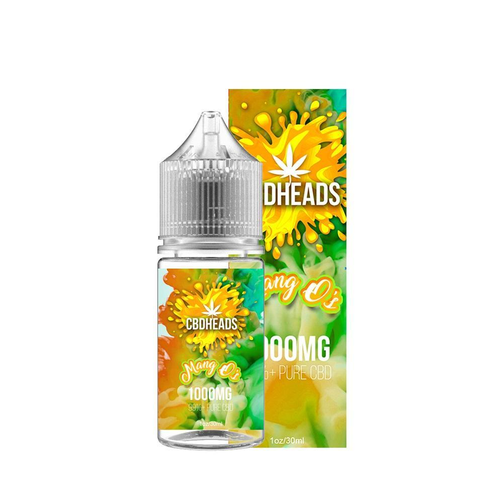 CBD Heads - CBD E-Liquid - Mang O's - 30ML - Vapor Living