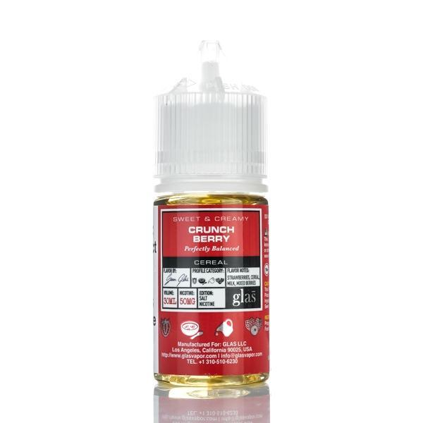 Glas Basix Salts - Crunch Berry - 30ML E-Liquid - Vapor Living