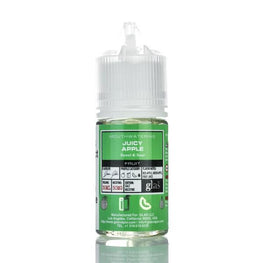 Glas Basix Salts - Juicy Apple - 30ML E-Liquid - Vapor Living