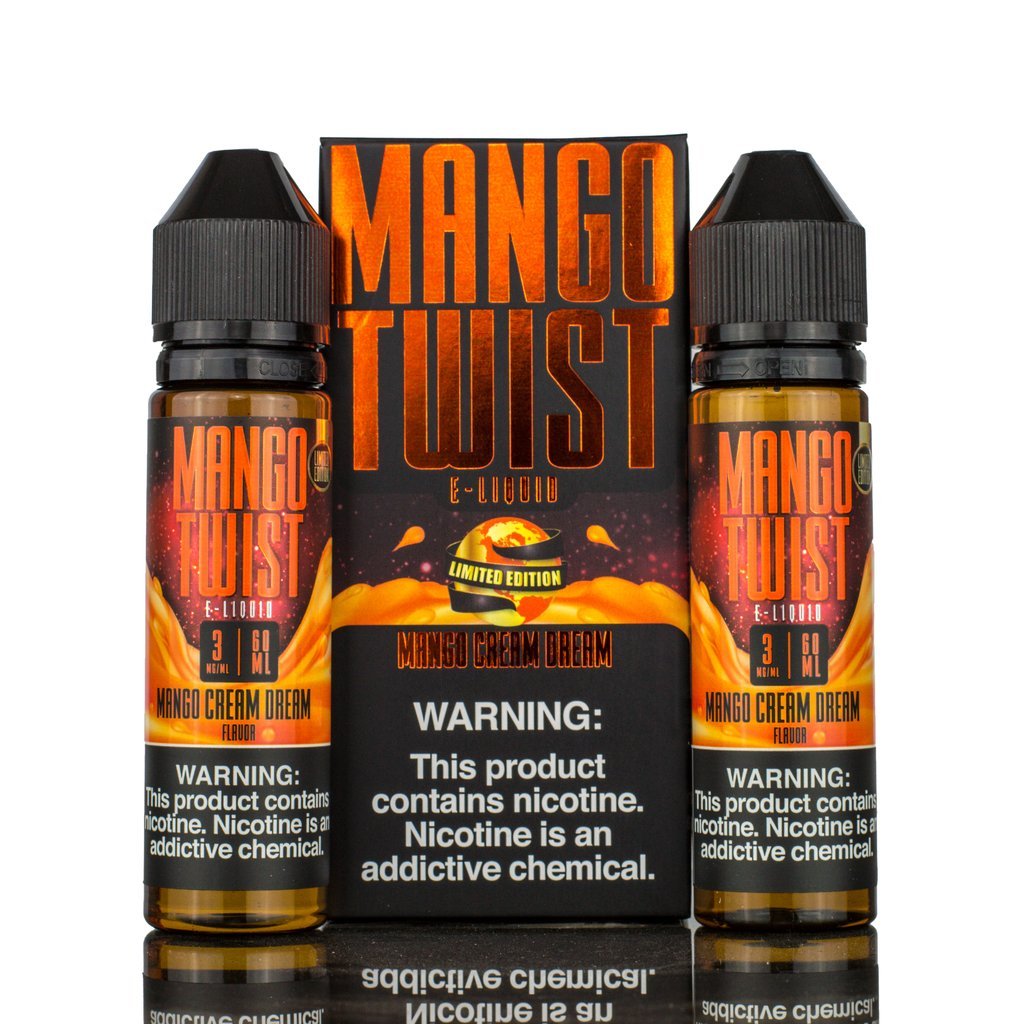 Mango Twist - Mango Cream Dream - 120ml E-Liquid - Vapor Living