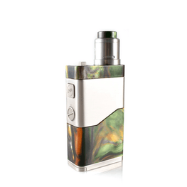 WISMEC LUXOTIC NC Dual 20700 Kit 250W With Guillotine V2 RDA - GREEN - hardware - Vapor Living