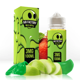 Air Factory - Wild Apple - 100ML E-Liquid - Vapor Living