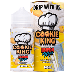 Cookie King - Lemon Wafer - 100ML E-Liquid - Vapor Living