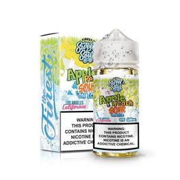Finest Sweet & Sour - Apple Peach Sour On Ice - 100ML E-Liquid - Vapor Living