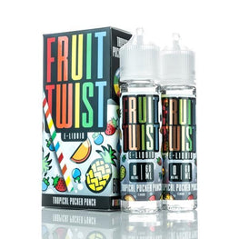 Fruit Twist - Tropical Pucker Punch - 120ML E-Liquid - Vapor Living