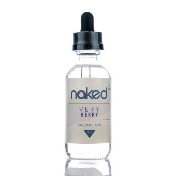 Naked 100 - Very Berry - 60ml E-Liquid - Vapor Living