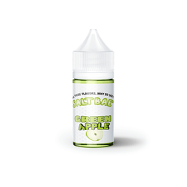 Saltbae50 - Green Apple - 30ML E-Liquid - Vapor Living