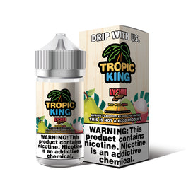 Tropic King - Lychee Luau - 100ML E-Liquid - Vapor Living