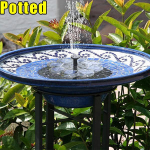 50% OFF-Solar Powered Bionic Fountain