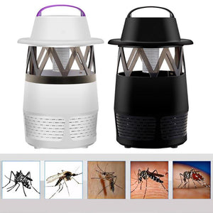 Pest Control USB Electric Anti Mosquito Killer Lamp Mosquito Trap LED Pest Catcher Repeller Bug Insect repellent Zapper Light 5W
