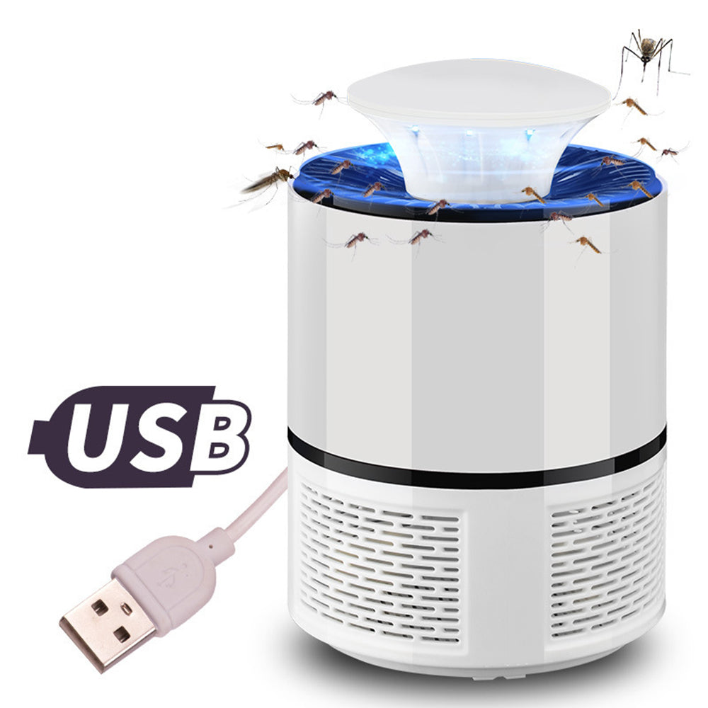 USB Electronics Mosquito Killer Lamp Pest Control Electric Mosquito Killer Fly Trap LED Light Lamp Bug Insect Repeller Zapper