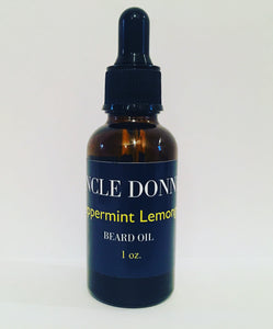 Peppermint Lemongrass Beard Oil 1 oz.